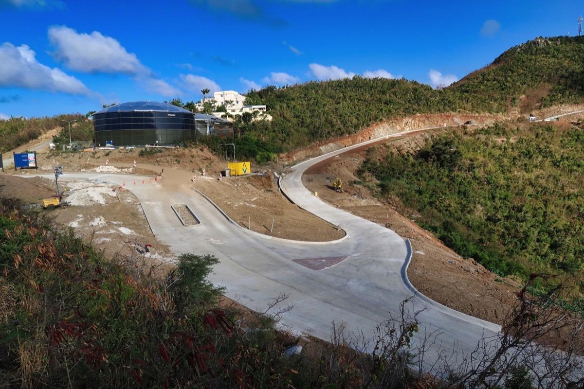 Paving Entrance Indigo Bay Projects
