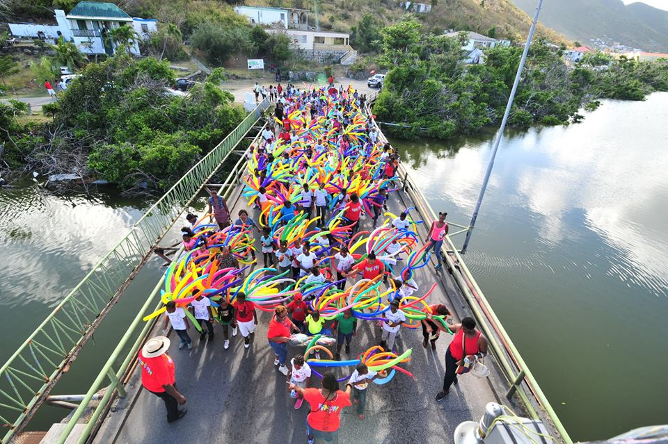 5th Annual Balloon Jump Up bridge