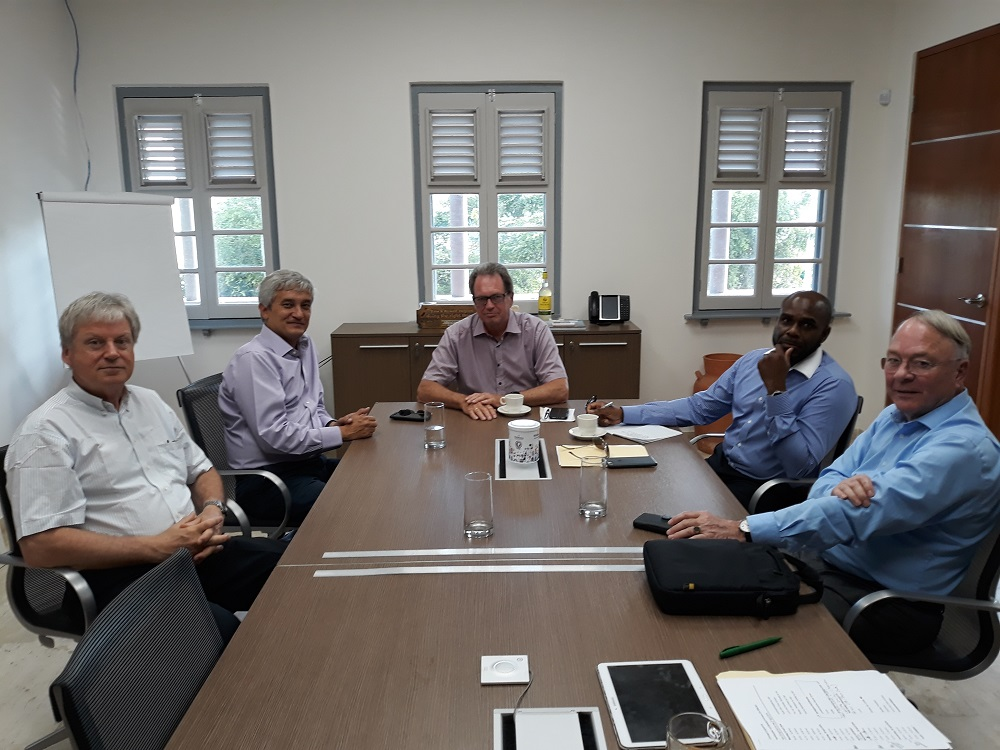 Progress Committee in meeting with Formateur Theo Heyliger - 20180425 TR
