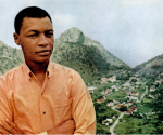 A Younger Joseph Richardson in Saba - photo Ebony Magazine provided by Wycliffe Smith