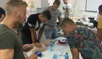 Dutch Marines - CPR training SMMC