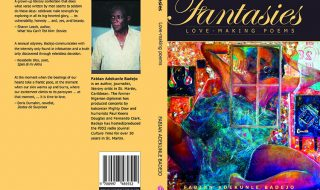Book Fantasies cover love making poems Fabian Badejo