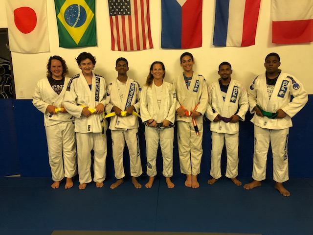 June 20 promotion group 2018 Bralian Jiu Jitsu