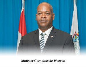 Minister Cornelius de Weever