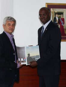 Theodore Heyliger and the governor