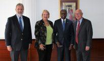 Ambassador Schuwer CG Hawthorne AG Groeneveldt enad Amb Hoekstra