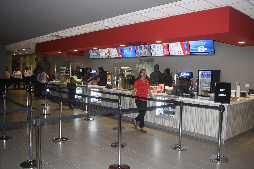 Caribbean Cinemas St. Maarten Concession Stand 20180704 RR