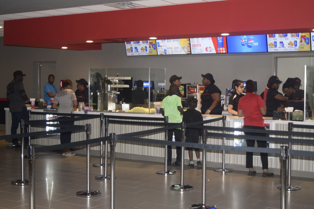 Caribbean Cinemas St. Maarten Concession Stand - 20180704 RR
