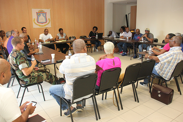 EOC Group Meeting with PM Marlin-Leona