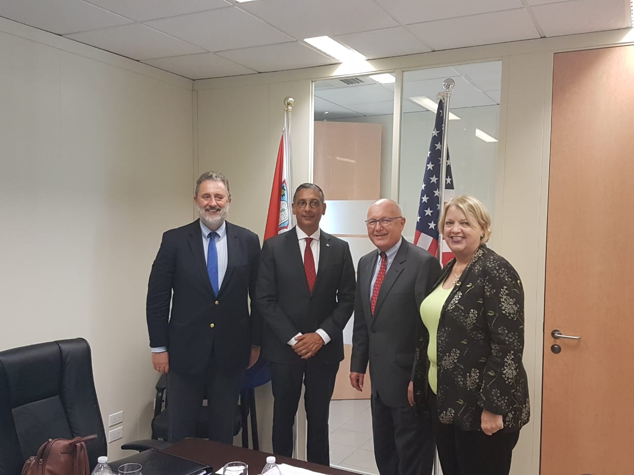 Minister Finance Visit with US Ambassador 18072018 3