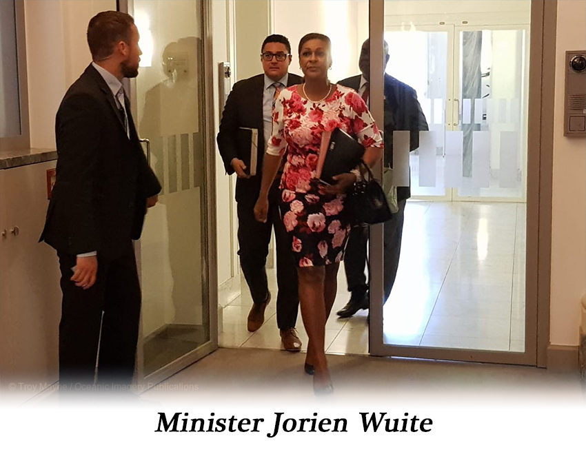 Minister Jorien Wuite