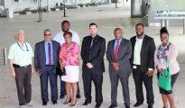 Minister TEATT Airport Visit 20180718