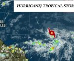 Police department and hurricane - tropical storm Beryl