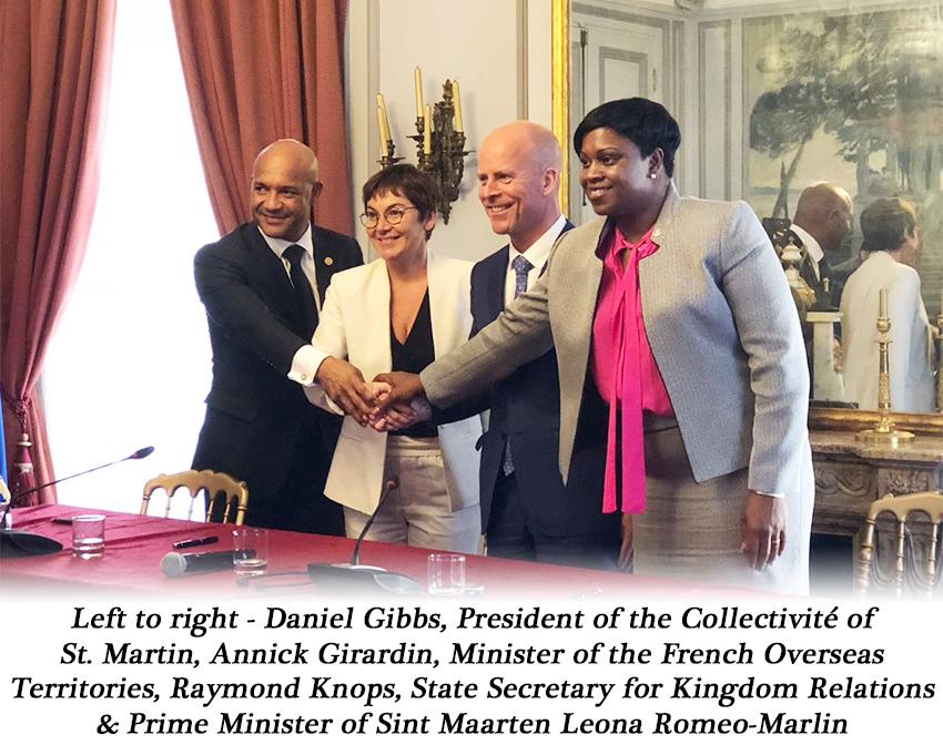 Prime Minister quadripartite signing in Paris