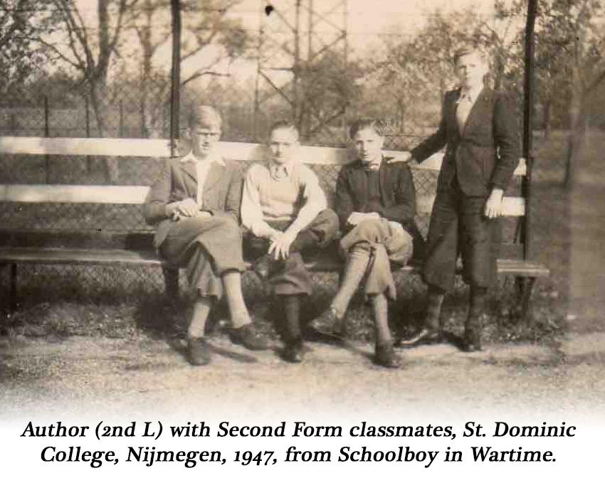 Schoolboy in Wartime