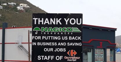 Thank You Sign Nagico