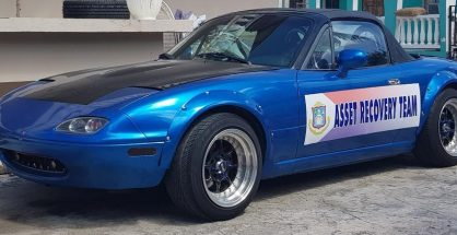 Confiscated Car by Asset Recovery Team - 20180809
