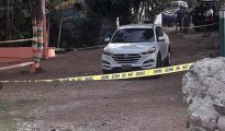 Crime scene man shot St. Peters Marigot Hill Road - 20180806