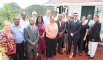 Delegation Ministry of Tourism Meeting Saba Authorities