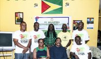 Guyanese Association board members - Photo by AB