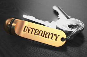 Integrity key