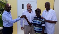 Keith Franca SMDF hands over keys to Junior Cannegieter home - 20180827 TR