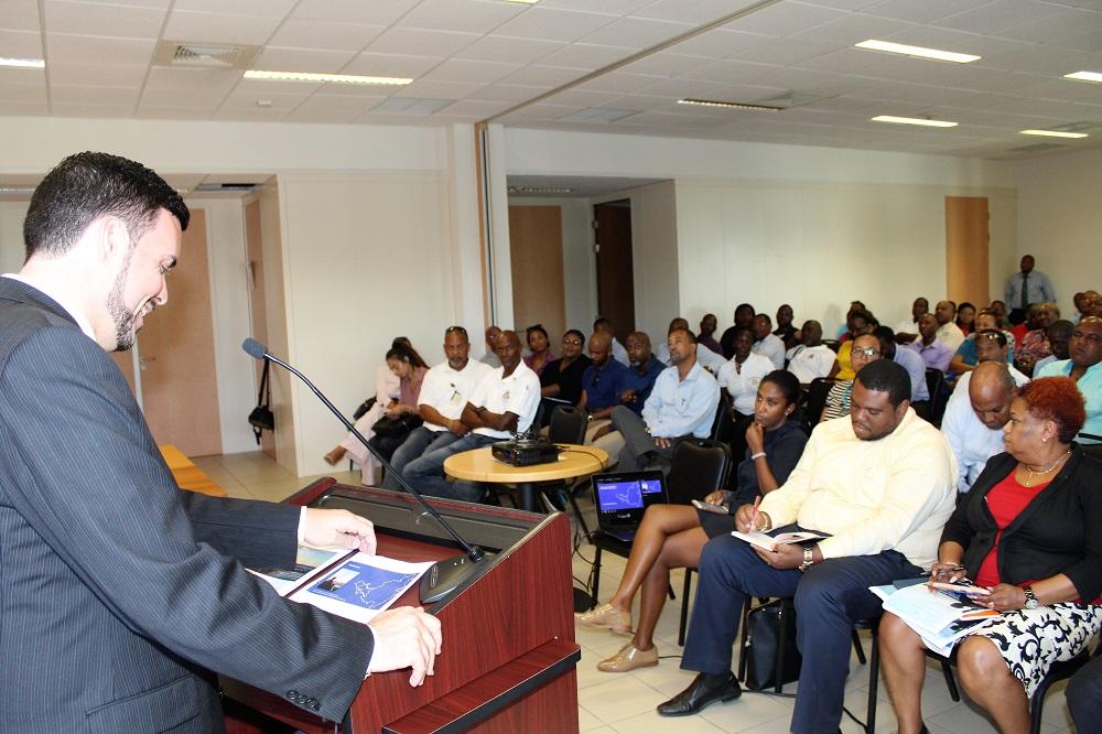 Minister Stuart Johnson Intro Meeting TEATT 08082018