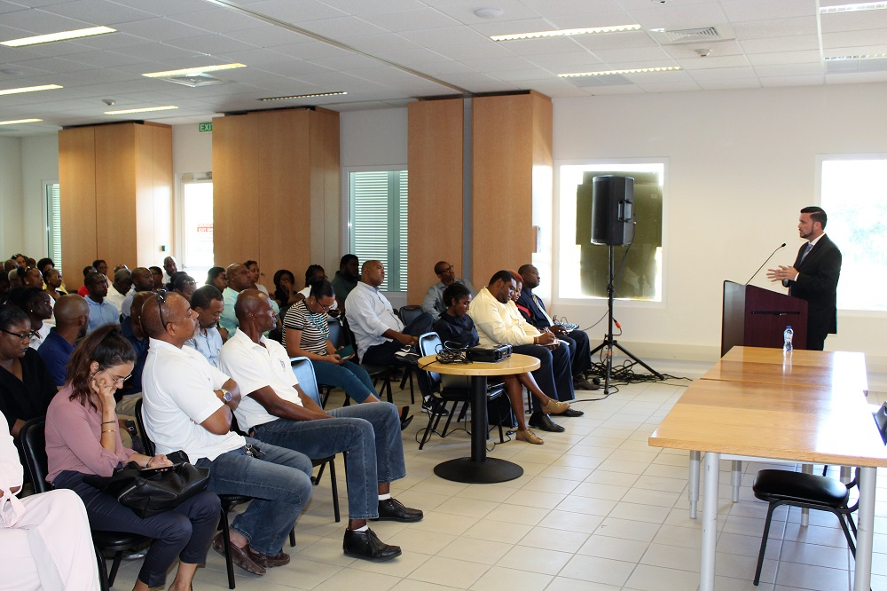 Minister Stuart Johnson Intro Meeting TEATT 20180808