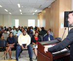 Minister Stuart Johnson Intro Meeting TEATT staff 20180808