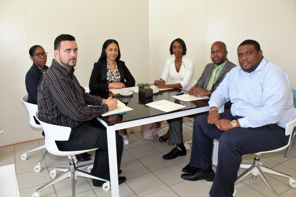 Minister Stuart Johnson meeting BIP 20180801