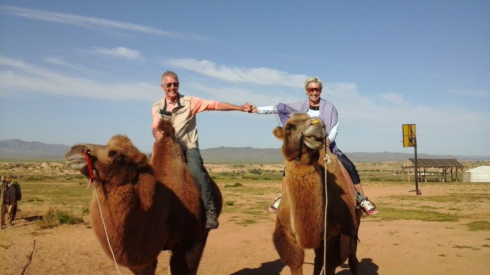 After thirty years back on a camel again - 20180829 Boogii B