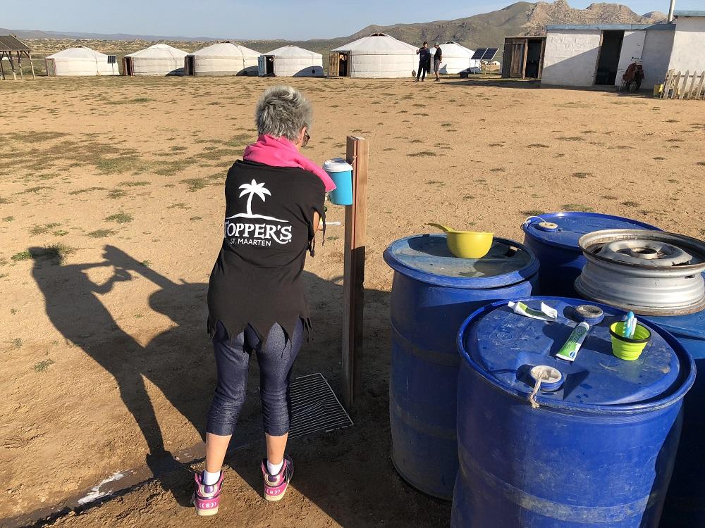 Basic facilities at the ger camp - 20180829 HH
