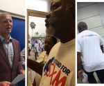 Collage Chief Prosecutor accepting petition from Elton Jones - 20180829
