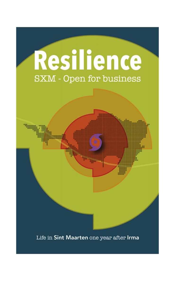 RESILIENCE Book cover - One year after hurricane Irma