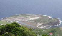 Saba Airport runway under construction - 20180920 TR