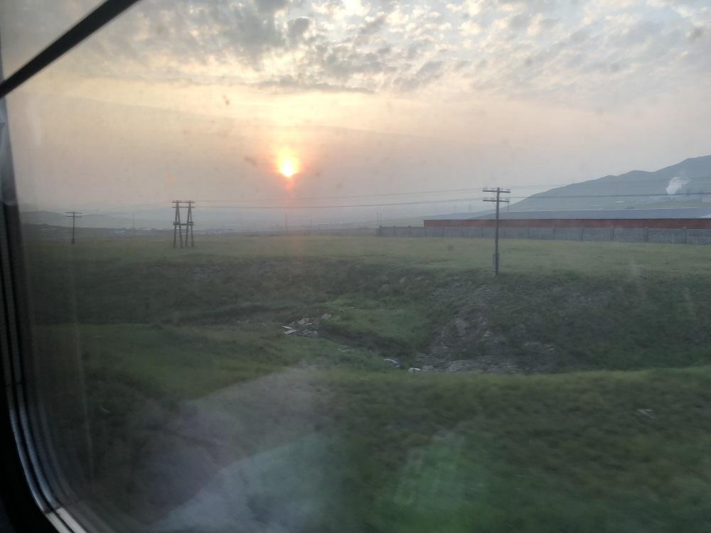 Sunrise over Tov - Mongolia - 20180821 HH