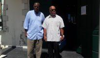 Clyde van Putten - Denicio Bryson - Court House St. Maarten