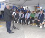 David Antrobus addressing gathering at SOL