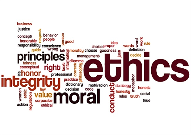 Principles of Codes of Conduct Ethics Integrity Moral Behaviour
