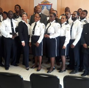 Prison Officers swearing in - 20181012 AB