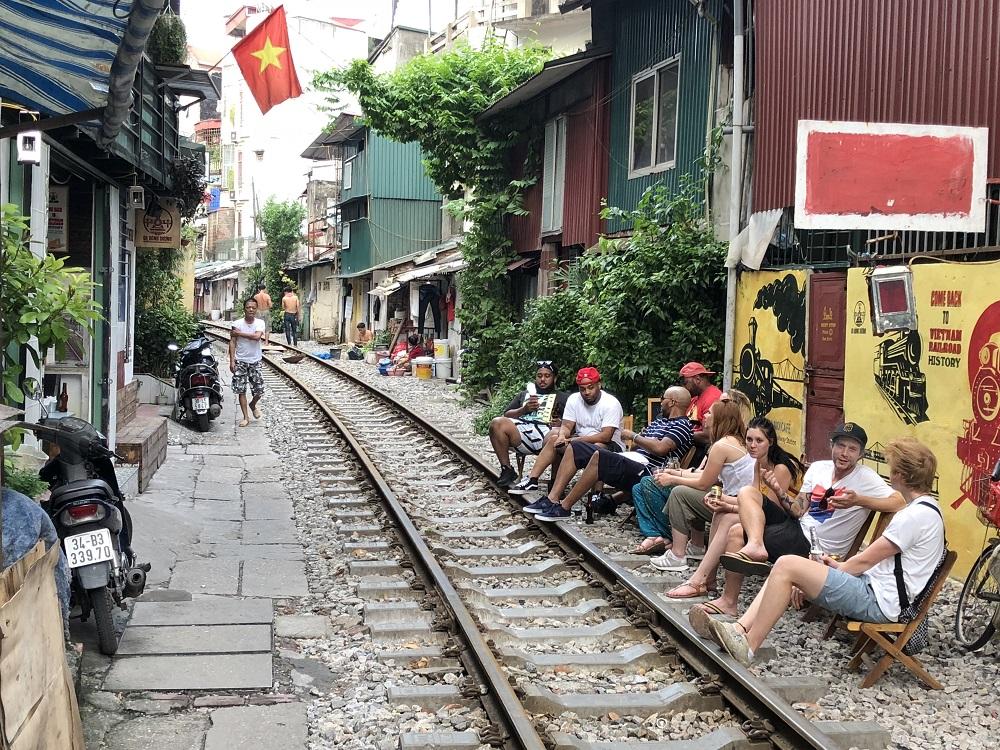 Railway in Hanoi - HH 20180911