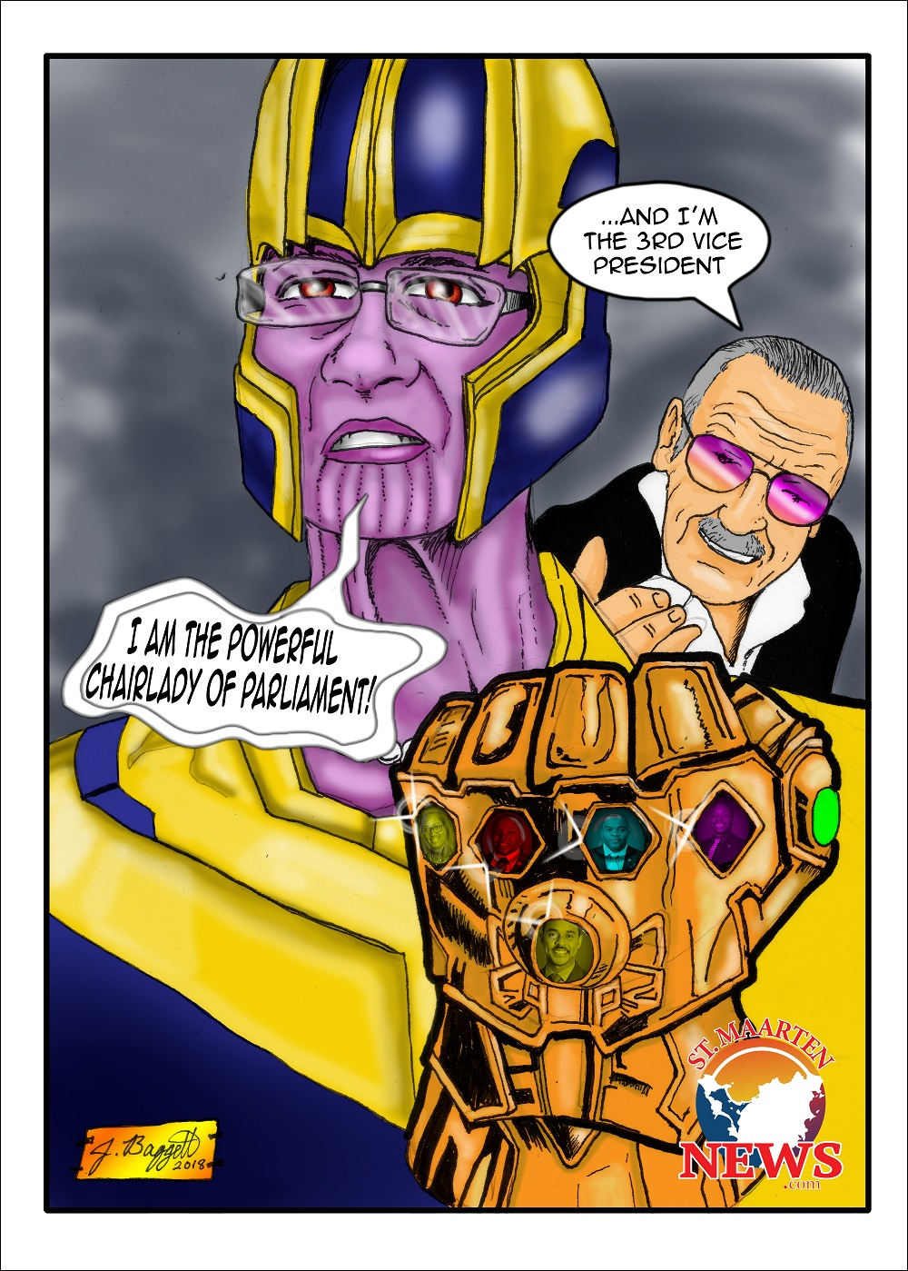 Sarah Thanos Wescot-Williams Cartoon
