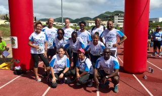 Team APS at 31st Annual St. Maarten's Day Around the Island Relay Race 2018