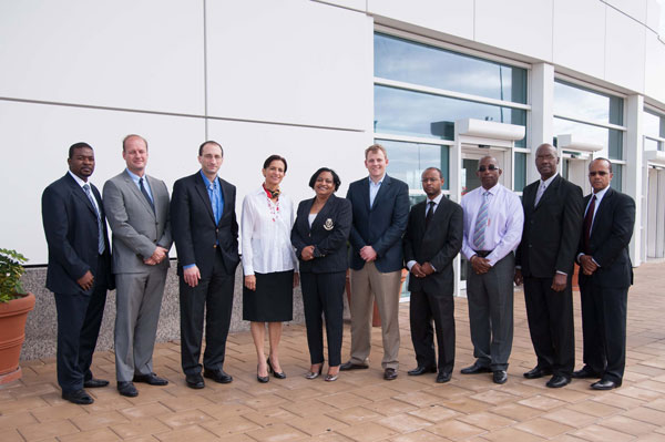 cigna execs visit pjiae 20012013 - Andre Wright financial advisor from Standard International Group