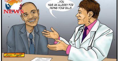 Brison Allergy Cartoon