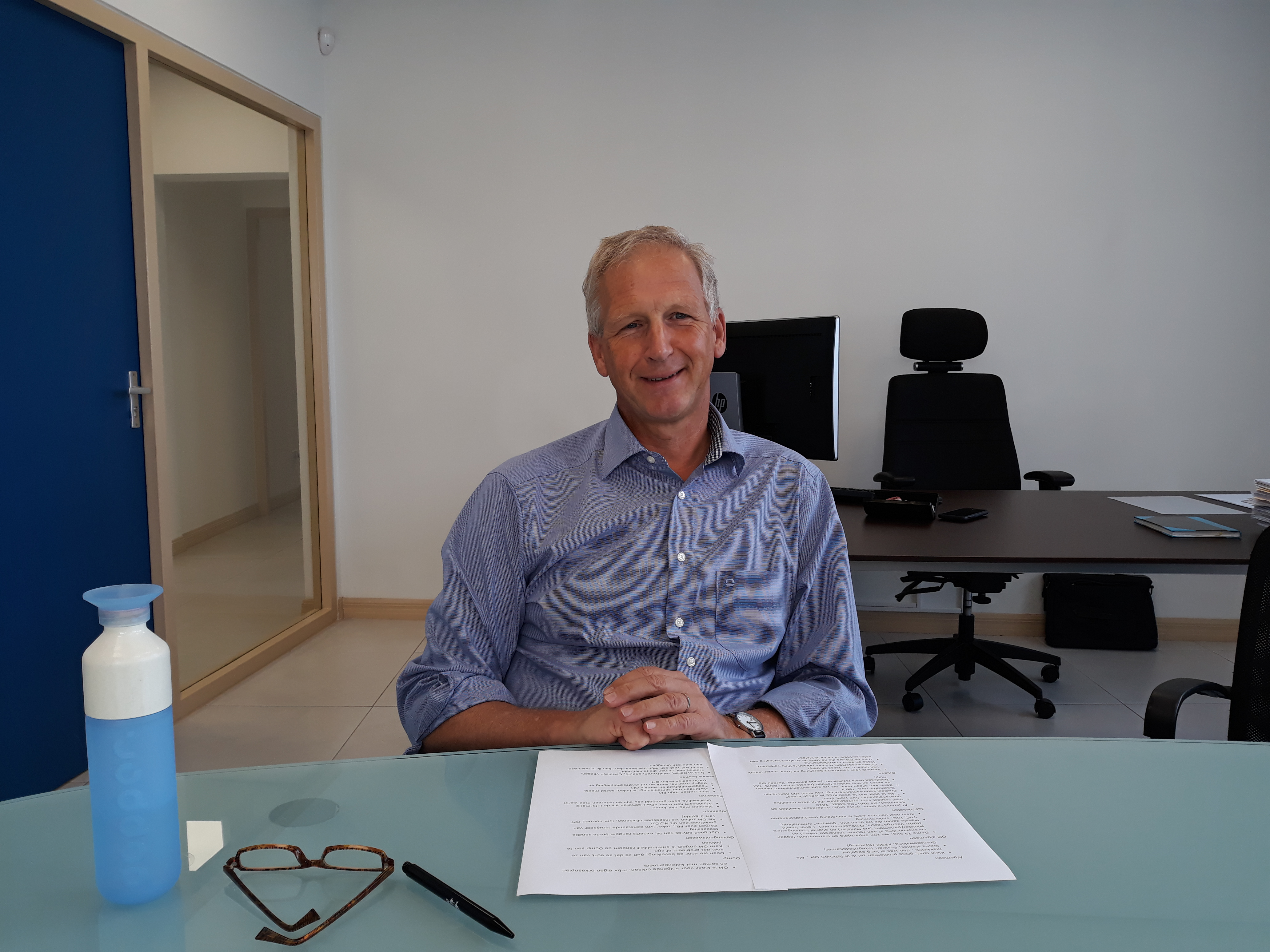 Chief Prosecutor Jeroen Steenbrink