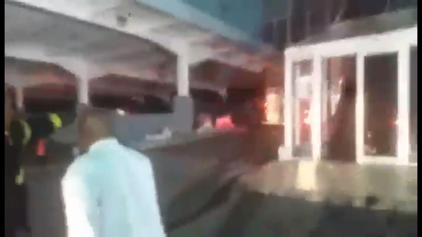 Screenshot fire incident scene Megaplex 7