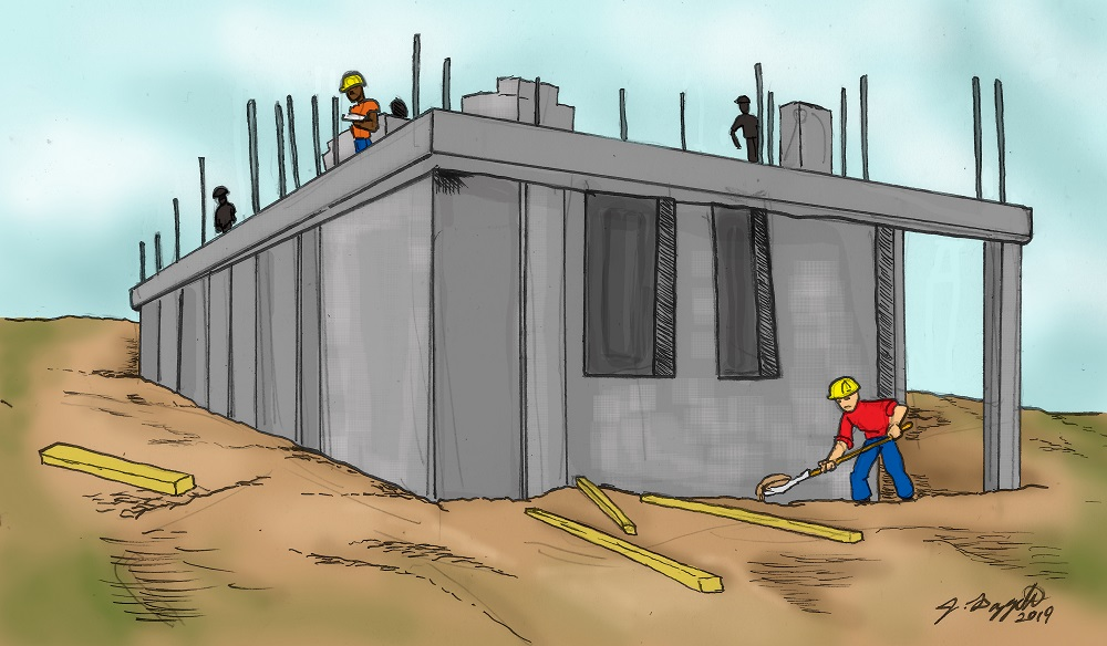 6. Nagico Insured House Under Construction