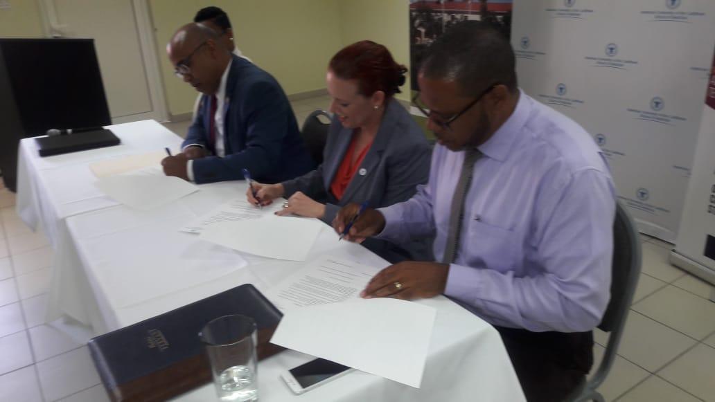MOU signing between USM AUC NIPA 1