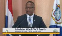 Min Education Wycliffe Smith - Pressbriefing 23 Jan 2019